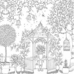 free secret garden book coloring pages