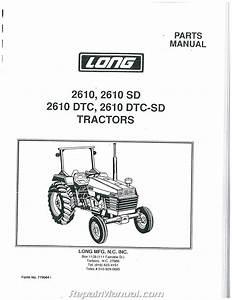 Long 2610 Parts Manual