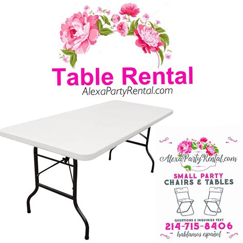 table and chair rentals frisco tx renta de sillas y mesas para fiestas pequenas en frisco tx