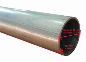 Tube Rectangulaire Acier Dimension : tube acier galvanis 40 mm paisseur 3 mm pour store ~ Dailycaller-alerts.com Idées de Décoration