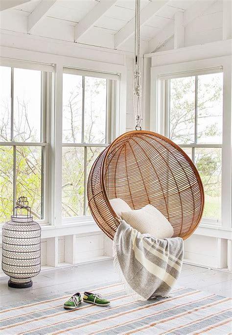deco chambre basket inspiration une balancelle d intérieur cocon de