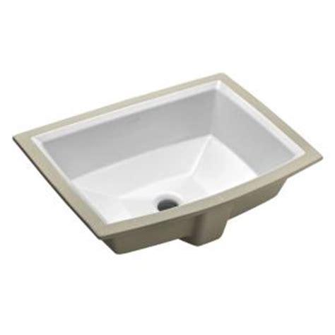 Kohler Bathroom Sinks At Home Depot by Kohler Archer Vitreous China Undermount Bathroom Sink With