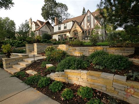 front yard slope landscaping ideas landscaping pros the official hangout forum angelswin com
