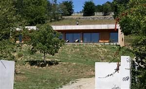 maisons d39archis c39est aussi un blog d39actualite part 2 With amenagement exterieur maison terrain en pente 7 construction maison bois pyrenees bois maisons