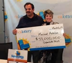 California Lottery Winners
