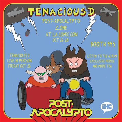 tenacious  post apocalypto zone  la comic  iheartcomix