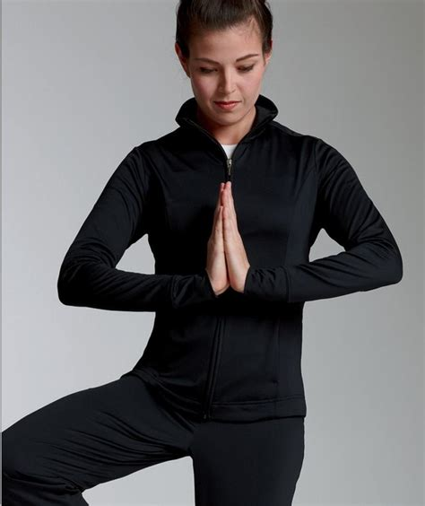 charles river apparel style  womens fitness jacket