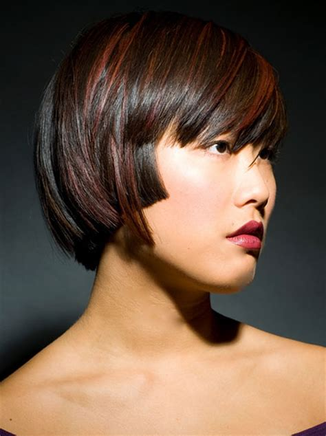 short hair cuts  color