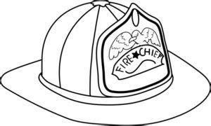 14074 firefighter helmet clipart black and white fireman hat clipart image fireman hat coloring page
