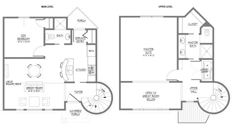 two floor plans modern house plans two modern house