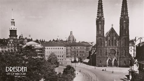 visit dresden city  baroque  bombing  part
