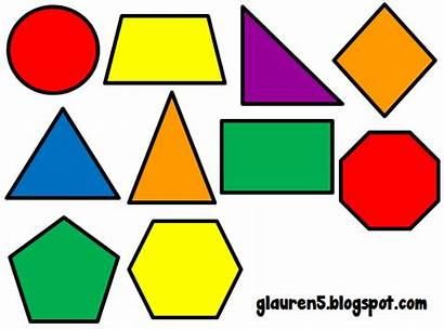 Shapes Primary Geometric Clip Colors Mix