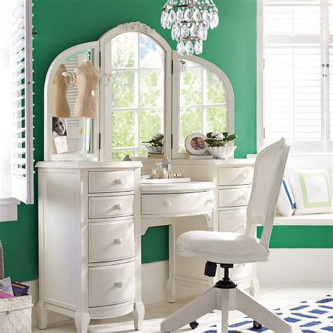 Bedroom Vanity Also White Vanity Set Which Has A Function