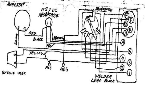 Wiring Diagram For Lincoln Sa 200 Welding Machine by Lincoln Sa200 Wiring