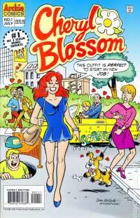 Cheryl Blossom Archie Comics