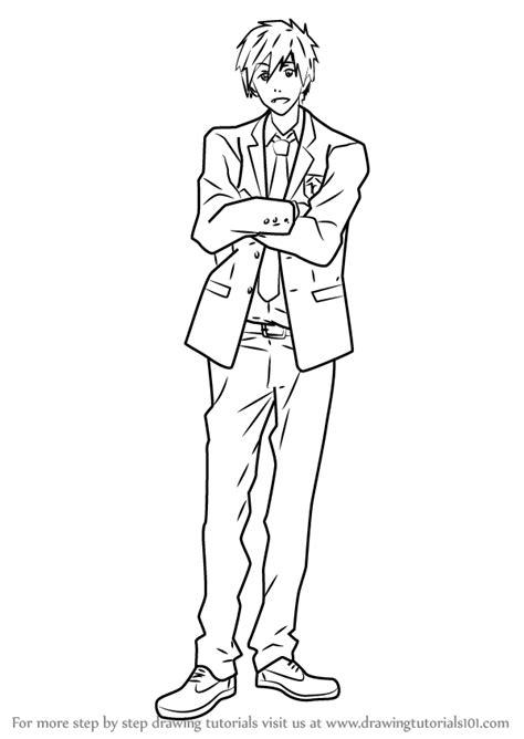 learn   draw makoto tachibana    step