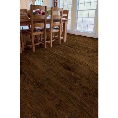 Trafficmaster Carpet Tiles Board Of Directors by Trafficmaster Handscraped Saratoga Hickory 7 Mm Thick X 7