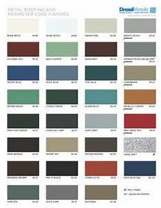 Berridge Color Chart Metal Roofing And Siding Colors Finishes Guides And