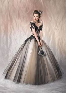 2016 sexy gothic wedding dresses black and champagne off With sexy black wedding dress