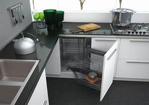 Meuble Coin Cuisine : un armoire de coin ou caisson de coin d 39 armoire c 39 est la ou le rangement est ~ Melissatoandfro.com Idées de Décoration