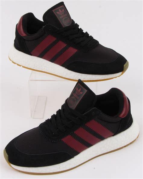Adidas I-5923 Trainer Black/burgundy   80s casual classics