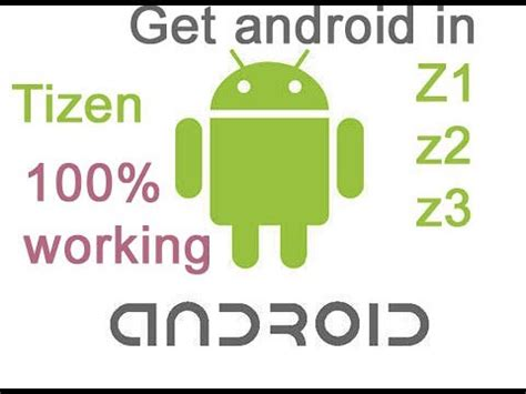 how to enable unknown source in tizen z2 z3 and install android apps