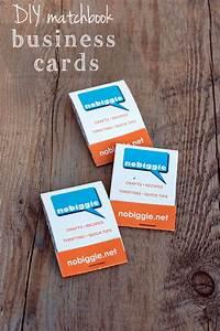 Diy matchbook business cards for Matchbook business cards