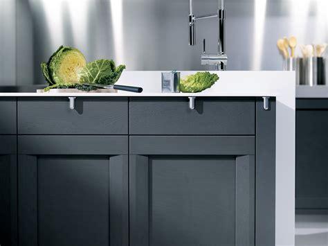 fa軋des de cuisine sur mesure cuisine esquisse chêne carbone perene lyon