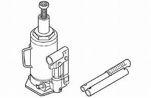 Omty26292  John Deere Hydraulic Bottle Jacks Ty26303