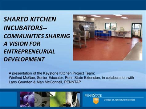 introduction  shared  commercial kitchens