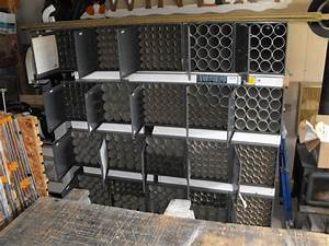 Recycled Map Cabinets Make For High Capacity Storage