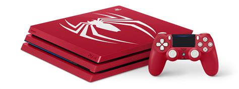 Introducing The Limited Edition Marvel's Spiderman Ps4