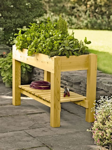 Cedar Grow Table  Ee  Elevated Ee   Raised Bed Made In Vermont
