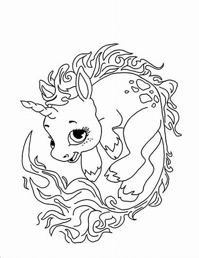 Unicorn Coloring Pages Despicable Printable Getcolorings