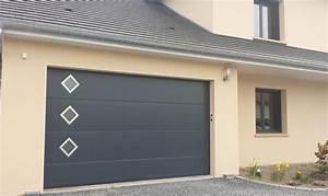 refined porte de garage enroulable grande largeur image With porte garage sectionnelle grande largeur
