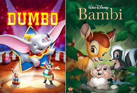 duelos de cine dumbo bambi