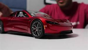 First Look At Tesla Roadster Diecast  Unboxing Video