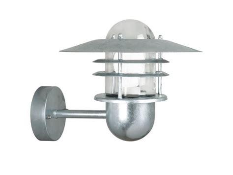 nordlux 74481031 outdoor galvanized steel wall light