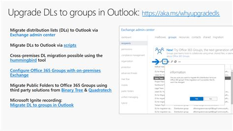 Office 365 Questions by Your Office 365 Groups Questions About Upgrading Outlook