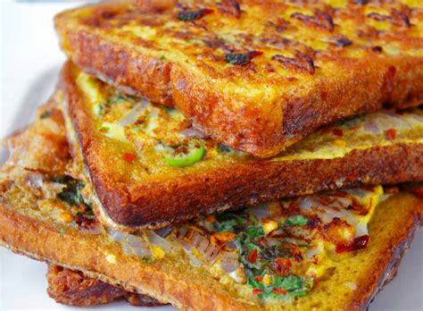 toast recipe quick masala french toast recipe by archana s kitchen simple recipes cooking ideas