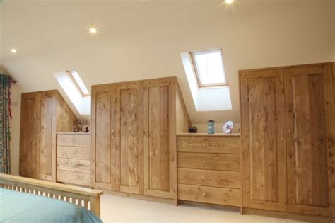 Wardrobe Closet For Small Spaces by Hand Crafted Oak Bedrooms Bespoke Bedroom Furniture