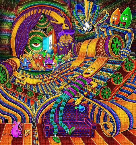 psychedelic art  salvia droid trancentral