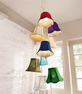 Lampe Mit Mehreren Lampenschirmen : lampenschirme warum einer wenn sie viele haben k nnen planungswelten ~ Markanthonyermac.com Haus und Dekorationen