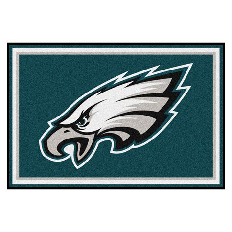 philadelphia eagles rug philadelphia eagles area rug 5 x 8
