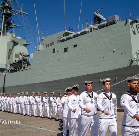 COMMISSIONING OF AWD BRISBANE TO THE ROYAL AUSTRALIAN NAVY ...