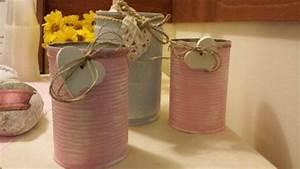 Barattoli di latta Shabby Chic! 20 idee Fai da te per decorare