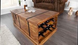 Table Basse Avec Pouf Pas Cher : table basse ronde en bois avec pouf lille maison ~ Teatrodelosmanantiales.com Idées de Décoration