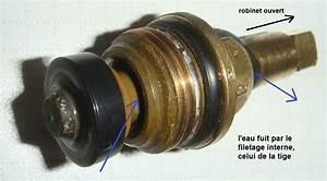 Changer Joint Robinet : fuite filetage t te de robinet ~ Premium-room.com Idées de Décoration