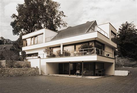 Einfamilienhaus Satteldach Moderne Architektur Avantecture