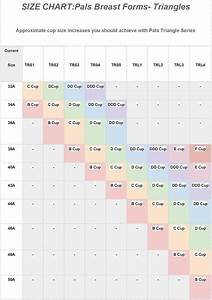 C Cup Breast Size Chart Pals Breast Forms Last Longer Than Amoena Breast Forms